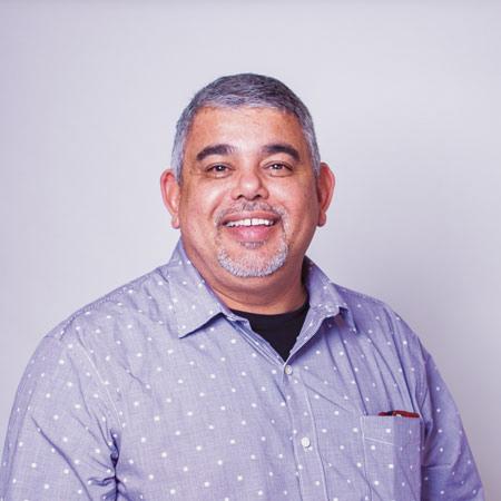 Wayne Reed, counsellor for Hope Restored program